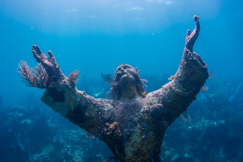 Christ of the Abyss Key Largo Florida