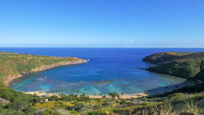 hanauma bay inner and outer reef