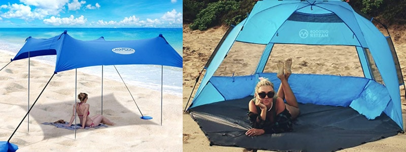 uv protecting tent